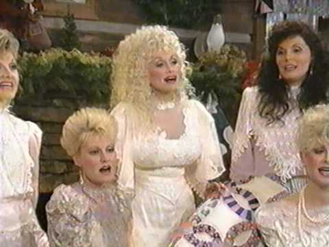 Dolly Parton singing & joking with her sisters (From the Home For Christmas special) Music Videos