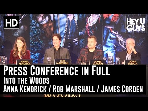 Into The Woods Press Conference In Full - Rob Marshall, James Corden & Anna Kendrick