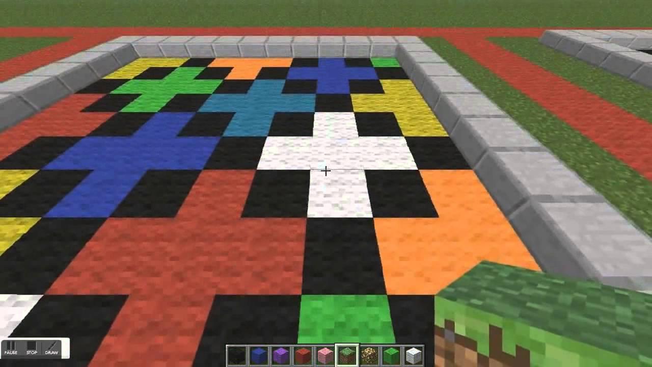 Minecraft tutorial best minecraft floor designs episode for Minecraft floor designs