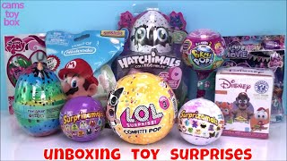 LOL Surprise Toys Confetti Pikmi POP Nintendo My Little Pony Toy Unboxing Fun