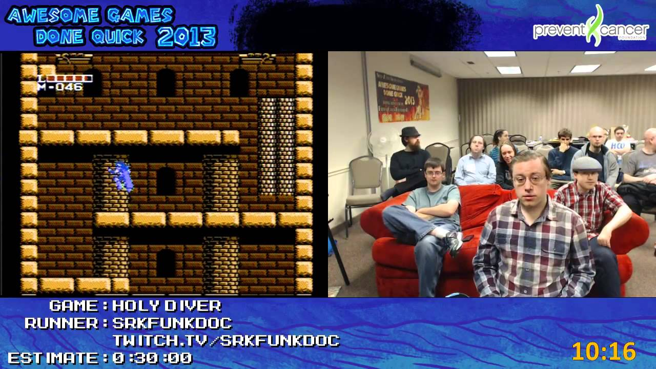 Holy Diver Speed Run 0:24:39