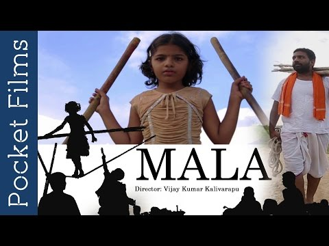 Mala (a slum circus girl) - Touching Telugu Film | Cute Father And Daughter Relationship