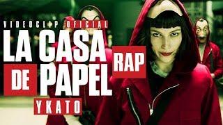 LA CASA DE PAPEL RAP《Bella Ciao》║VIDEOCLIP OFICIAL ║YKATO - LETRA 3.58 MB