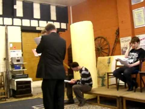 Bexhill Amateur Theatrical Society Hamlet Rehearsals 1