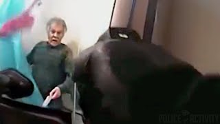 Police Bodycam Shows Fatal Shooting Of Mentally Ill Man