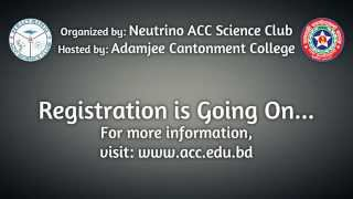 1st AML-ACC National Science Festival-2014 TVC