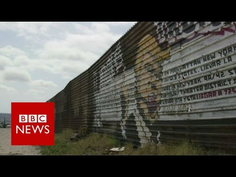 What Mexicans think of Trump's wall - BBC News