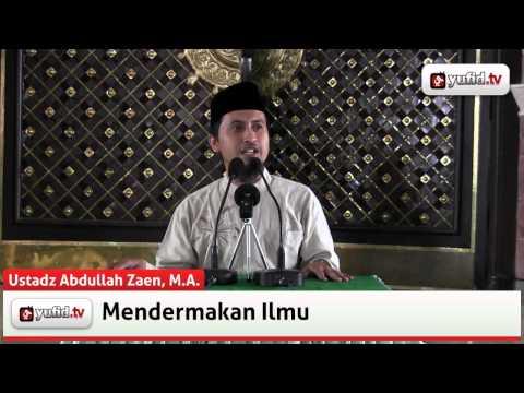Ceramah Agama Islam: Sedekah Ilmu