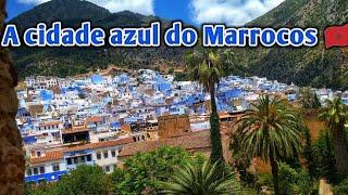 A Incrível Cidade Azul do Marrocos