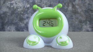 Ok To Wake! Clock from Patch Products