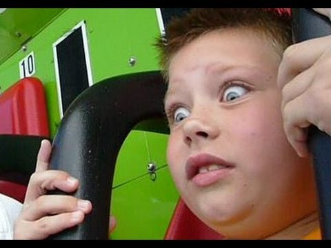 FUNNY scared look in kids eyes