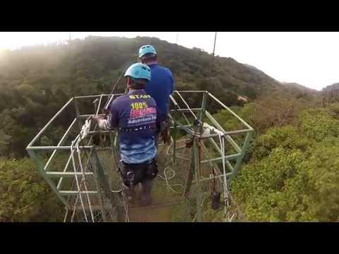 Jump in Costa Rica