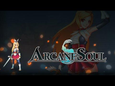 Arcane Soul - iOS / Android - Ellisa Gameplay Act 4-6 (Easy)