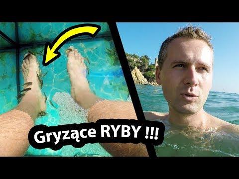 Ryby Gryzą Mnie Po Nogach !!! - Jakie To Uczucie? (Vlog #204)