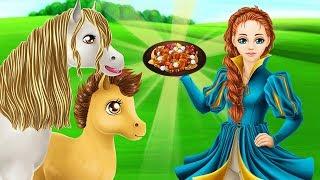 Vệ Sinh Chuồng Ngựa Và Cho Ngựa Ăn - Game Vui Cho Bé