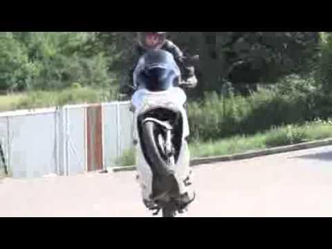 Honda PCX 125i Wheelie Stunt www.sinopmasaj.com