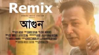 AGUN  ZooEL feat Asif Akbar Remix  By Nahid Creative