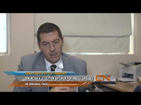 Denuncias por irregularidades en la obra pública en los Charrúas