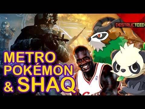Pokemon X&Y NEW CREATURES! Metro: Last Light REVIEW, XCOM Declassified PREVIEW, & More!