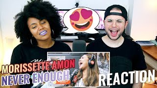 Morissette Amon - Never Enough | LIVE on Wish 107.5 Bus | REACTION