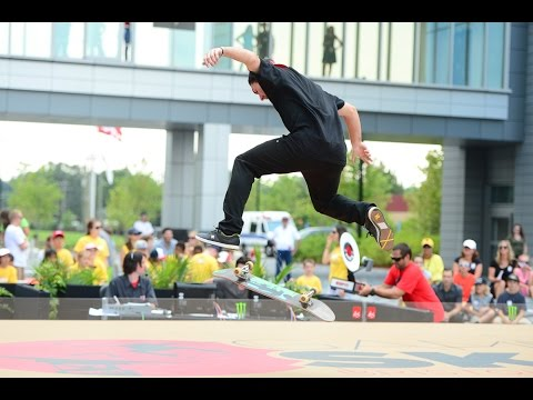 Shane O'Neill vs  Mike Mo Capaldi X Games Game Of Skate