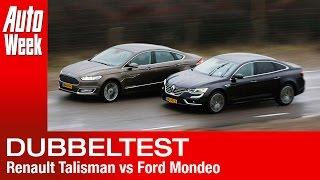 Renault Talisman Initiale Paris vs. Ford Vignale Mondeo