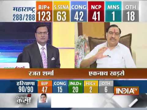 Eknath Khadse speaks with India TV Exclusively.