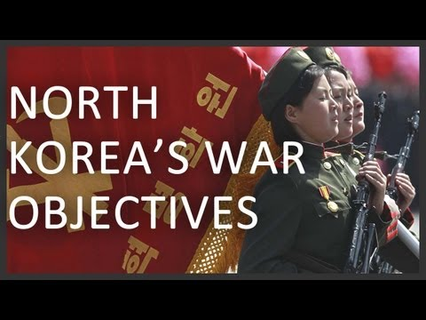 North Korea  war scene with South Korea and the United States