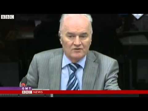 BBC News   Ratko Mladic refuses to testify at Radovan Karadzic trial