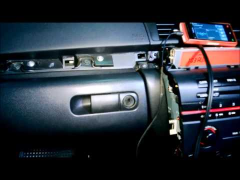 mazda 3 cd player AUX in D.I.Y review