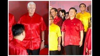 《石濤.News》習近平腳踏七定數(中共國第七位黨領袖 國主席)APEC身陷異常 傲慢閉目過慢語速 應對「國之將亡 必有妖孽」&  彭斯怒目以對 當面斥責習近平的「一帶一路」為「索命帶」「不歸路」