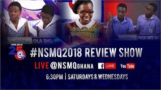NSMQ 2018 ONE-EIGHTH: TAMALE SHS vs ACHIMOTA SCHOOL vs APAM SHS