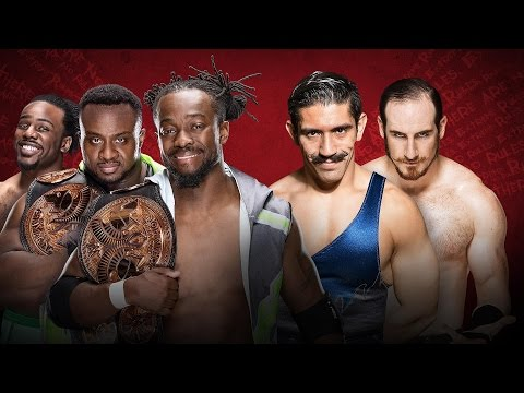 WWE EXTREME RULES 2016 - The New Day Vs The Vaudevillains