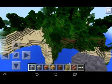 minecraft PE 0.9.0-0.10.4 seed jungle สวยๆ