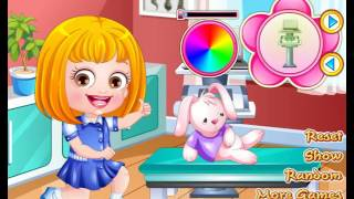 Baby Hazel physiotherapist Dressup - game for girls