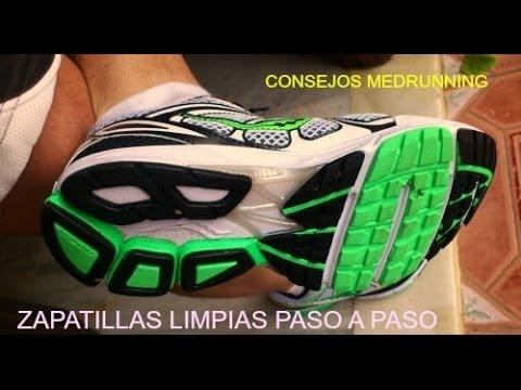 Limpiar tus zapatillas de running paso a paso
