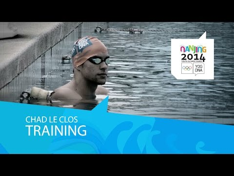 Training With Chad Le Clos   Nanjing 2014 Youth Olympic Games