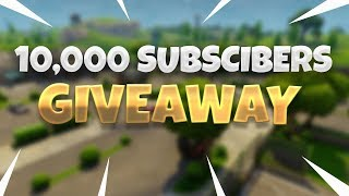 🔴 100$ GIVEAWAY | WE HIT 10K BOYSSSS | !giveaway