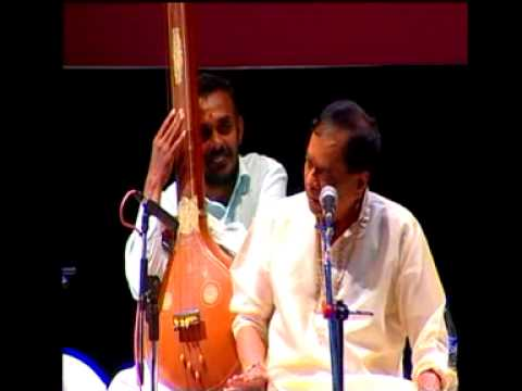 Dr.m.balamuralikrishna - Thillana video