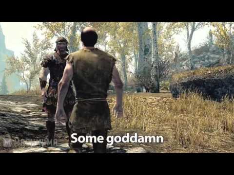 Gamer Poop Skyrim #6 озвучка Cerebra litore