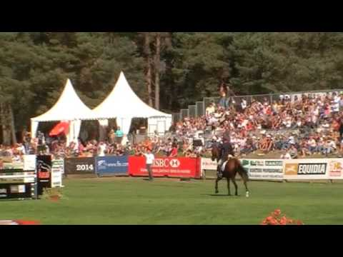 0 European eventing championship Lucy Wiegersma jumping