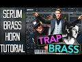 Perfect Trap Brass Horn Lead In Serum Tutorial FREE PRESET mp3
