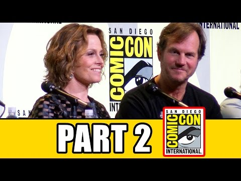 ALIENS 30th Anniversary Comic Con Panel Fan Questions (Pt2) - Sigourney Weaver, Bill Paxton