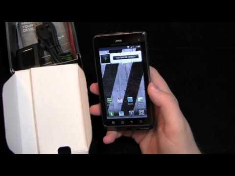 Motorola DROID 3 Unboxing