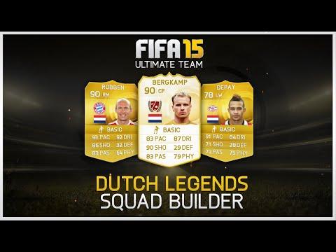 FIFA 15 - Dutch Legends Squad Builder ft. New 5 Star Skiller!