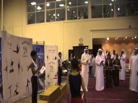 الإتحاد القطري للجمباز  - بطولة ختام الموسم - بنين 2011