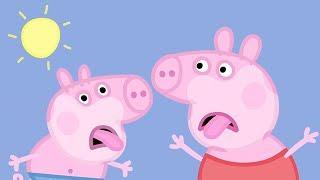 Peppa Pig Nederlands Compilatie Nieuwe Afleveringen 🌞 Snikhete Dag 🍦 Tekenfilm | Peppa de Big