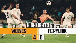 UNBELIEVABLE JOTA GOAL! Wolves 4-0 FC Pyunik | Highlights