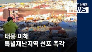 투R)태풍 피해 지자체, 특별재난지역 선포 촉각
