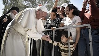 Pope Francis to take 12 Syrian refugees to the Vatican after Lesbos visit by euronews (in English)